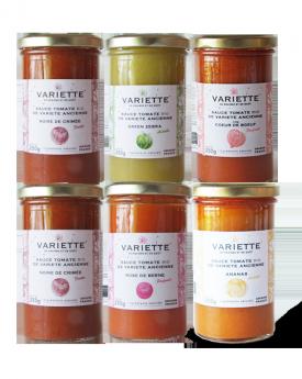 Pack découverte 19-1 : 6 x 250g sauces tomates BIO