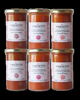 sauces tomates noire de crimée coeur de boeuf rose de berne