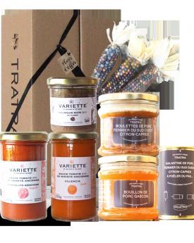 Coffret Cadeau Tratra&Variette 7 produits découverte